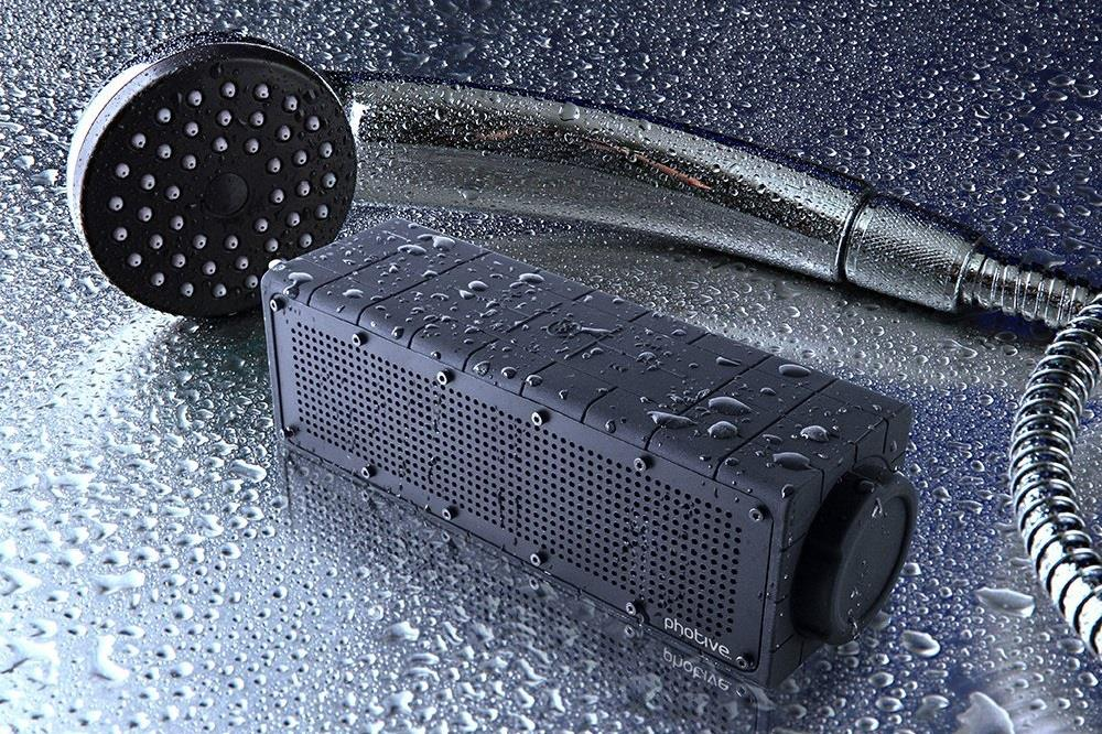 Photive Waterproof Wireless Bluetooth Speaker